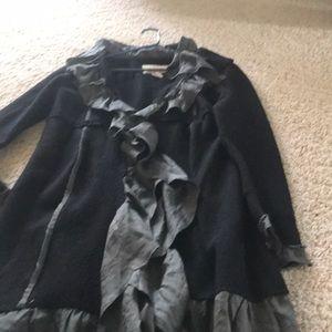The Buckle Felt wool jacket
